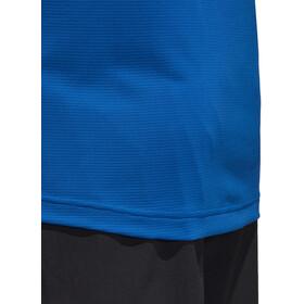 adidas TERREX TraceRocker Tee LS 1/2 Zip Men Blue Beauty